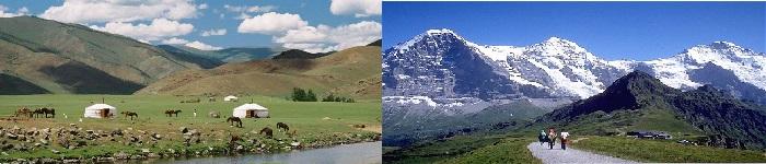 Switzerland/Mongolia